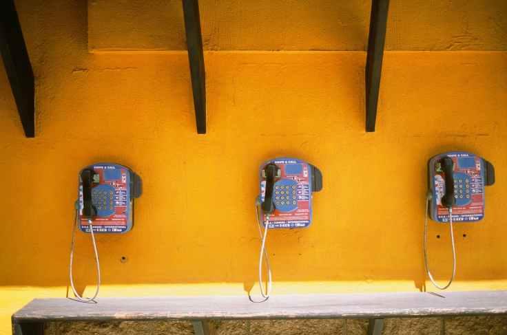 call box phone box phones public